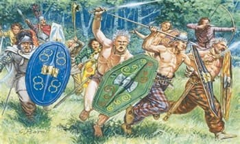 Фигуры  Gauls Warriors (I-II Century B.C.) (1:72)