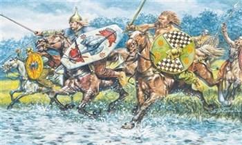 Солдаты  Celtic Cavalry   (i-ii Century B.C.) (1:72)