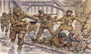 Солдатики Britich Paratroopers (WWII)