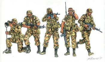 Солдаты  U.S. Infantry (1980s) (1:72)