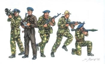 "Фигуры  Soviet Special Forces ""SPETSNAZ"" (1980s) (1:72)"