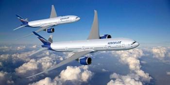 """Самолет Боинг 777-200 """"Аэрофлот"""" (1:300)"""