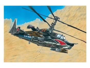 """Вертолет """"Черная акула"""" (1:72)"""
