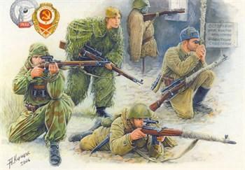 Советские снайперы 1941-1943