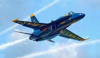 "Самолет F/A- 18 Hornet ""Blue Angels"""