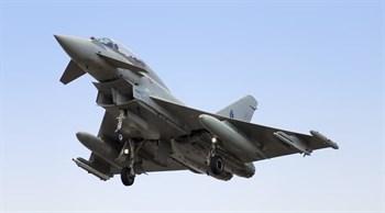 Самолет  Ef 2000 Typhoon (1:72)