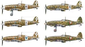 Самолет  Italian Aces Mc.202/ Mc.205 (1:72)