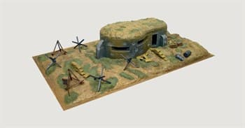 Диорама  Wwii-Bunker  And Accessories (1:72)