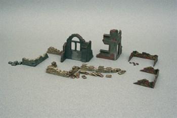 Наборы Для Диорам  Walls And Ruins (1:72)