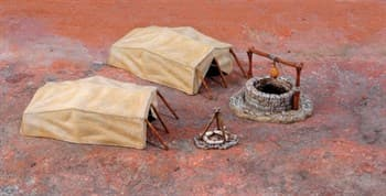 Диорама  Desert Well and Tents (1:72)