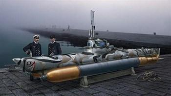 Подводная лодка  U-BOOT BIBER (1:35)