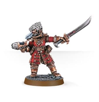 Vostroyan Commander with Power Sword