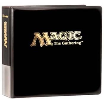 "Альбом ""Ultra-Pro"" (для листов 2,5х3,5 (3х3 кармашка на листе): с надписью Magic The Gathering"