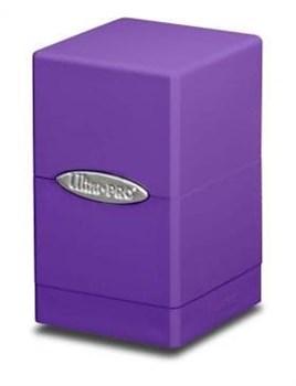 "Коробочка ""Ultra-Pro"": Сатиновая башня: фиолетовая"