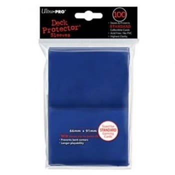 """Протекторы """"Ultra-Pro"""" (разноцветные, 100 шт., 66мм*91мм): синие"""