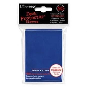 """Протекторы """"Ultra-Pro"""" (разноцветные, 50 шт., 66мм*91мм): Синие"""