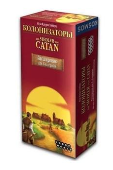 Настольная игра: Колонизаторы. Расширение для 5-6 игроков (2- е рус.изд.) 1101