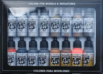 Набор Model Air  Metallic colors  (16цв.) a71181 71181