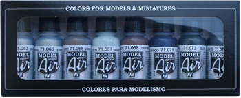 Набор Model Air  Metallic colors  (8цв.) a71176 71176
