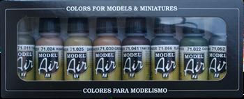 Набор Model Air  Panzer colors  (8цв.) a71177 71177