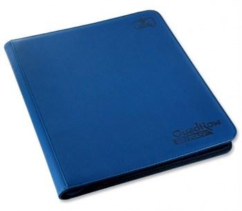 "Ultimate Guard - Альбом ""Квадро"" на молнии на 480 карт темно-синий (4х3) UGD010344 010344"