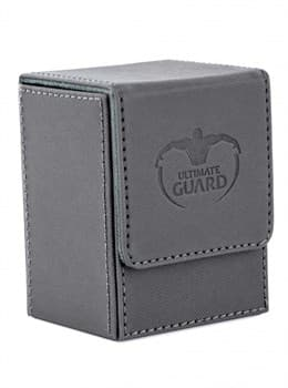 Ultimate Guard - Коробочка кожаная серая премиум UGD010220 010220