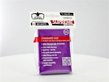 Ultimate Guard - Протекторы фиолетовые 80 штук UGD010123 010123