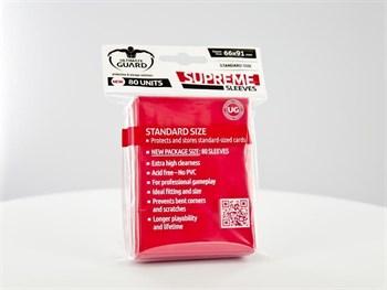 Ultimate Guard - Протекторы красные 80 штук UGD010119 010119