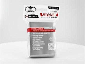 Ultimate Guard - Протекторы серебряный металлик 80 штук UGD010126 010126