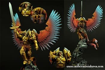 28mm SF Archangel #2