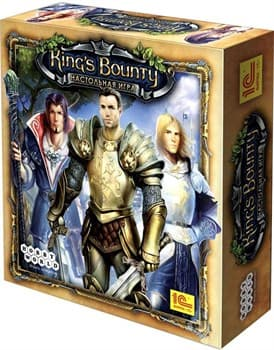 Настольная игра: Кингс Баунти (King's Bounty) (2-е рус. изд)