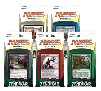 Battle for Zendikar: Начальные наборы 5 шт. всех цветов (Английский)