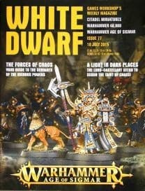 "Журнал ""Белый Дварф Еженедельный (англ.)(White Dwarf Weekly 77)"