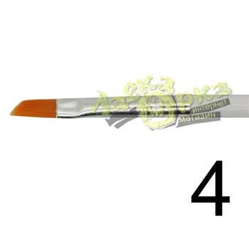 Кисть из синтетического волоса, ретушная № 4 J3634 3634