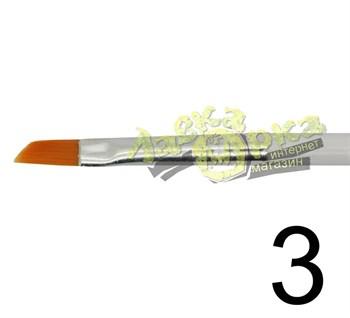 Кисть из синтетического волоса, ретушная № 3 J3633 3633