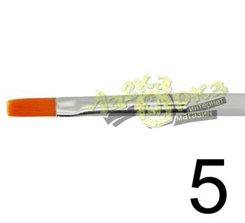 Кисть из синтетического волоса, плоская № 5 J3625 3625