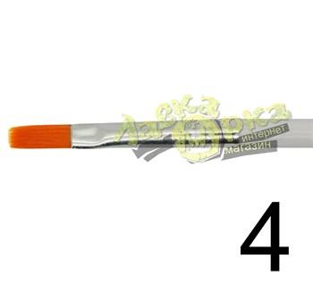 Кисть из синтетического волоса, плоская № 4 J3624 3624