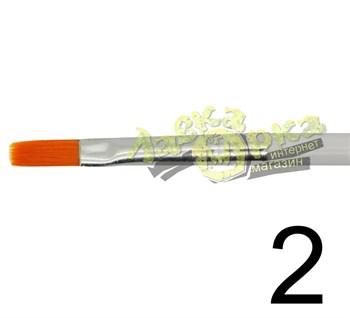 Кисть из синтетического волоса, плоская № 2 J3622 3622