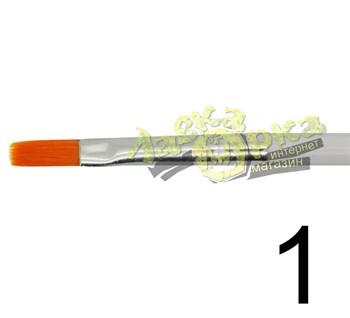 Кисть из синтетического волоса, плоская № 1 J3621 3621