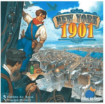 Настольная игра: Нью-Йорк 1901 (New York 1901) 904345
