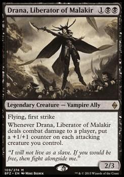Драна, Освободительница Малакира (Drana, Liberator of Malakir)