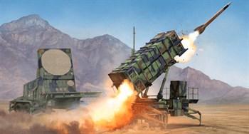 "ЗРК ""Патриот"" пусковая установка и радар (1:35)"