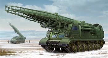 Пусковая установка 2П19 с баллистической ракетой 8К14 (1:35)
