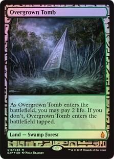 Overgrown Tomb - Near Mint (не пользованное)