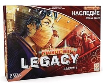 "Настольная игра ""Пандемия: Наследие (красная коробка) (PANDEMIC LEGACY RU RED)"