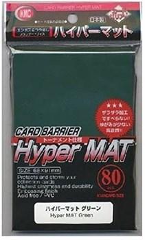 KMC Standart Sleeves - Hyper Mat Green (80 штук)