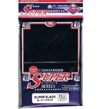 KMC Standart Sleeves - Super Black (80 штук)
