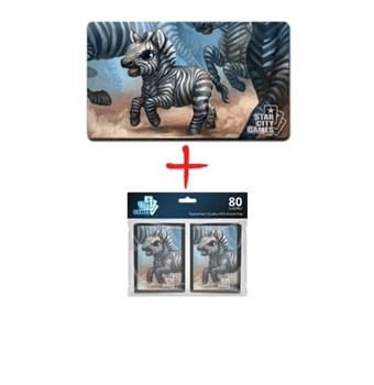 Плеймат + протекторы Zebra