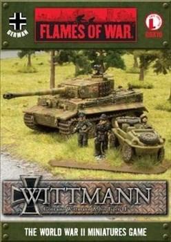 Tank Aces - Tiger 1E Wittmann box