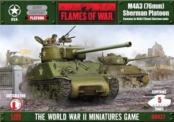 M4A3 (76mm) Sherman Platoon*